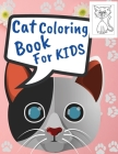 Cat Coloring Book For Kids Cover Image
