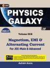 Physics Galaxy 2020-21: Vol.3B - Magnetism, EMI & Alternating Current 2e Cover Image
