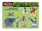 Zoo Animals Sound Puzzle [With Battery] Cover Image