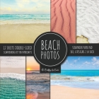 Beach Photos Scrapbook Paper Pad 8x8 Scrapbooking Kit for Papercrafts, Cardmaking, DIY Crafts, Summer Aesthetic Design, Multicolor Cover Image