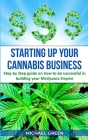 Starting Up Your Cannabis Business Cover Image