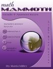 Math Mammoth Grade 7 Answer Keys Cover Image