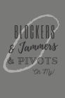 Blockers & Jammers & Pivots Oh My!: Roller Derby Bout Tracker for Bout Prep, Goals, Reflections and Basic Stats Tracking Cover Image