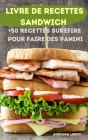 Livre de Recettes Sandwich Cover Image