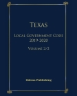 Texas Local Government Code 2019-2020 Volume 2/2 Cover Image