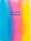 Dot Grid Notebook Abstract Notebook Large (8.5 x 11 inches) - Black Dotted Notebook/Journal 100 Dotted Pages Cover Image