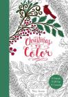 Christmas to Color: 10 Postcards, 15 Gift Tags, 10 Ornaments Cover Image
