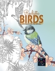 Realistic Birds coloring books for adults: Adult coloring books nature, adult coloring books animals Cover Image