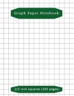 Graph Paper Notebook: Composition School Book 1/2 inch squares 0.5