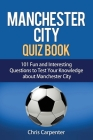 Manchester City Quiz Book Cover Image