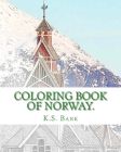 Coloring Book of Norway. Cover Image