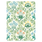William Morris Celandine Handmade Embroidered Journal Cover Image