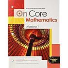 Student Worktext Algebra 1 2012 (Houghton Mifflin Harcourt on Core Mathematics) Cover Image