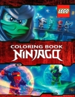 LEGO NINJAGO Coloring Book: 59 Exclusive Illustrations Cover Image