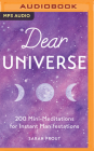 Dear Universe: 200 Mini-Meditations for Instant Manifestations Cover Image