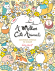 A Million Cute Animals: Adorable Animals to Color Cover Image