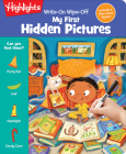 Write-On Wipe-Off My First Hidden Pictures (Write-On Wipe-Off My First Activity Books) Cover Image