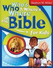 Who's Who and Where's Where in the Bible for Kids Cover Image