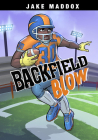 Backfield Blow (Jake Maddox Sports Stories) Cover Image