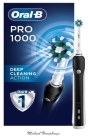 Pro 1000: CrossAction Electric Toothbrush, Black, Powered by Braun Cover Image
