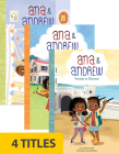 Ana & Andrew Set 2 (Spanish) (Set of 4) Cover Image
