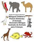 English-Portuguese (Brazilian) Bilingual Children's Picture Dictionary of Animals Dicionário Bilíngue Ilustrado de Animais para Crianças Cover Image