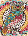 Animal Coloring Books: Adults Coloring Book Stress Relieving Unique Design Cover Image