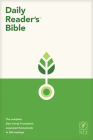 NLT Daily Reader's Bible (Red Letter, Hardcover) Cover Image