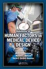 Handbook of Human Factors in Medical Device Design Cover Image