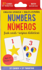Bilingual Numbers Flash Cards (English/Spanish) Cover Image