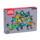 Dinosaurs 300 Piece Shaped Scene Puzzle Cover Image
