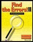 Find the Errors! II: Proofreading Activities (Walch Reproducible Books) Cover Image