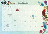 Geninne Zlatkis 2020-2021 Desk Pad Calendar Cover Image