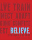 Believe Training Journal (Classic Red) Cover Image