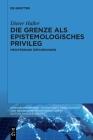 Die Grenze ALS Epistemologisches Privileg: Mediterrane Erfahrungen Cover Image