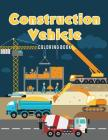 Construction Vehicle Coloring Book Cover Image