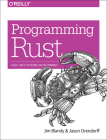 Programming Rust: Fast, Safe Systems Development Cover Image