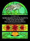 Sidelights, Fanlights and Transoms Stained Glass Pattern Book (Dover Stained Glass Instruction) Cover Image