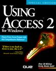 Using Access 2 F/Windows (Using ... (Que)) Cover Image