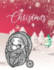 A Fun Christmas Coloring Book: Beautifully designed 50+ designs for the holiday season, relaxing coloring pages filled with Christmas Santa Claus, Re Cover Image