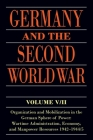 Germany and the Second World War: V/II: Organization and Mobilization in the German Sphere of Power: Wartime Administration, Economy, and Manpower Res Cover Image