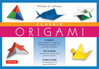 Classic Origami [With 98 Sheets of Origami Paper] Cover Image