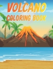 Volcano Coloring Book Cover Image