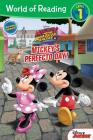 World of Reading Mickey and the Roadster Racers Mickey's Perfecto Day (Level 1 Reader): with stickers Cover Image