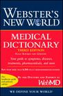 Webster's New World Medical Dictionary, 3rd Edition Cover Image