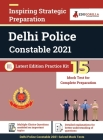Delhi Police Constable 2021 Exam 15 Full-length Mock Tests (Solved) Latest Edition Staff Selection Commission (SSC) Book as per Syllabus Cover Image