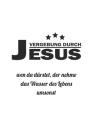 Vergebung durch Jesus. Wen da dürstet der nehme das Wasser des Lebens umsonst: Notizbuch Geschenk-Idee - Karo - A5 - 120 Seiten Cover Image