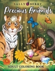 Adult Coloring Book: Amazing and Inspirational Coloring Pages for Adults. Precious Animals, Adorable and Stress Relieving Designs with Jewe Cover Image
