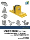 SOLIDWORKS Exercises - Learn by Practicing (3rd Edition) Cover Image