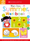 Get Ready for Pre-K Summer Workbook: Scholastic Early Learners (Wipe-Clean Workbook) Cover Image